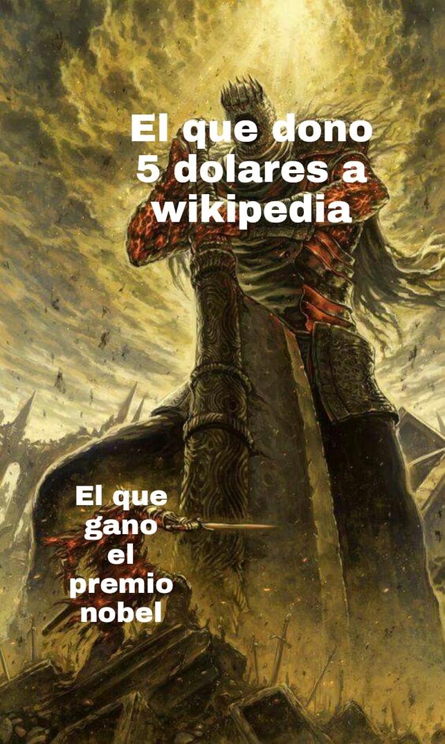 Donen a wikipedia - meme