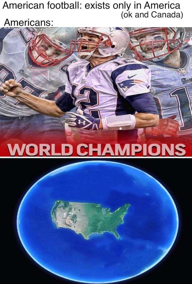 American Football world championship - meme