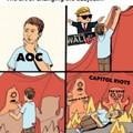 AOC be like