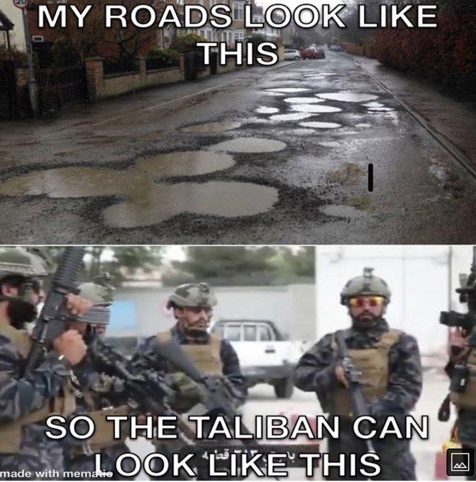 Thanks Biden - meme