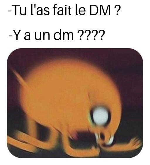 Dm - meme
