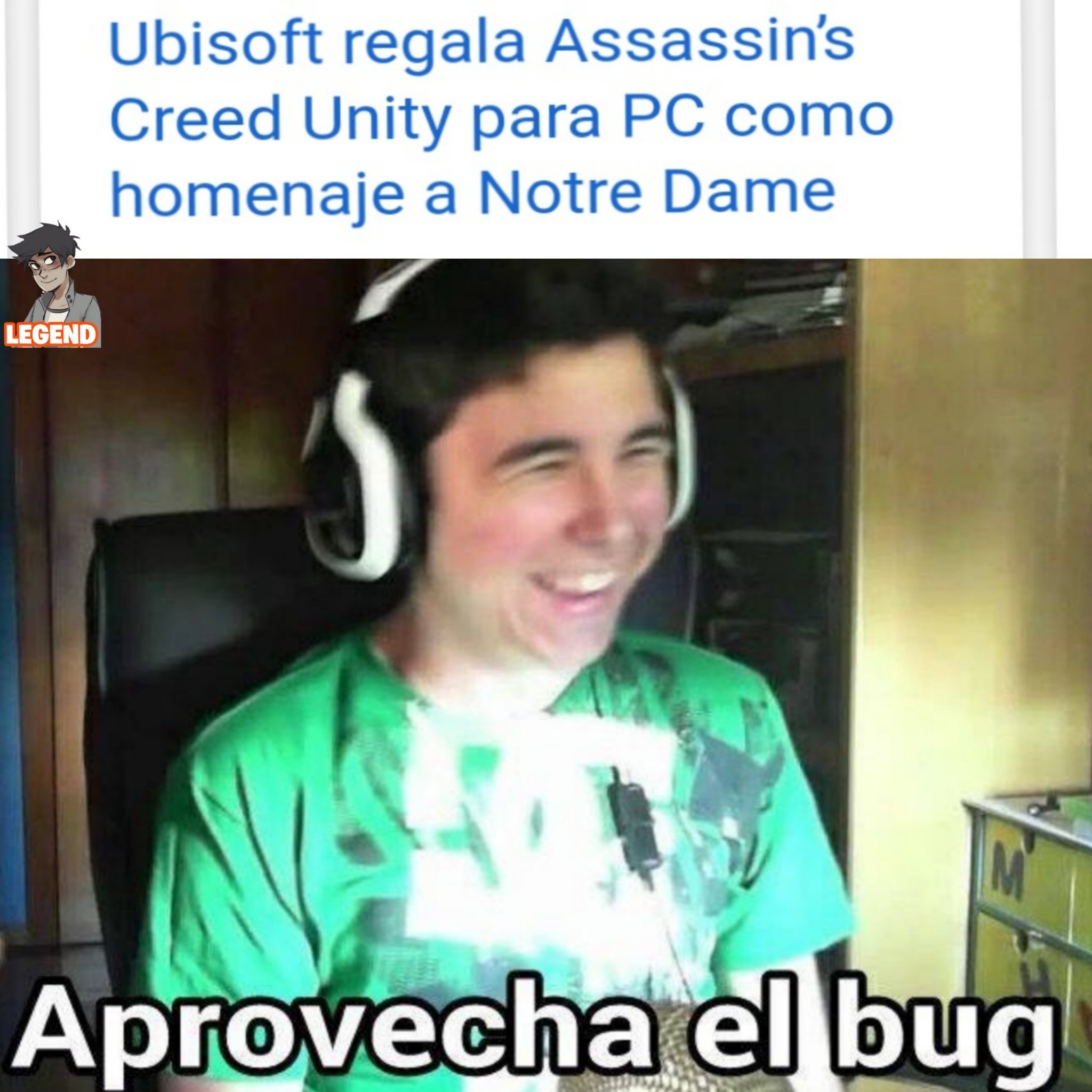 Thank you Ubisoft really cool - meme