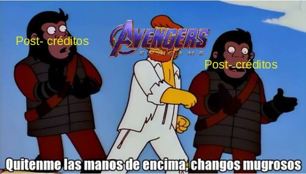 post-creditos - meme