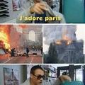 Le feu ça brûle