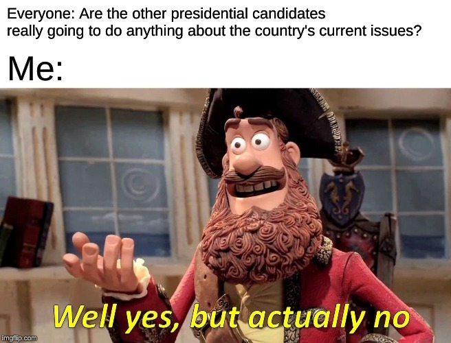 Title is President - meme