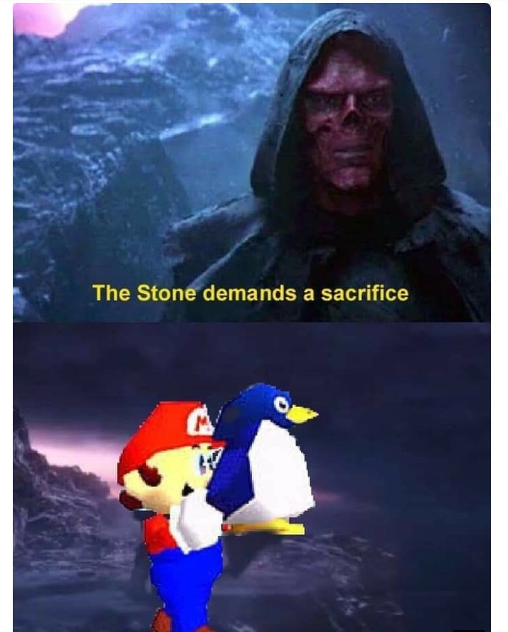 The ultimate sacrifice - meme