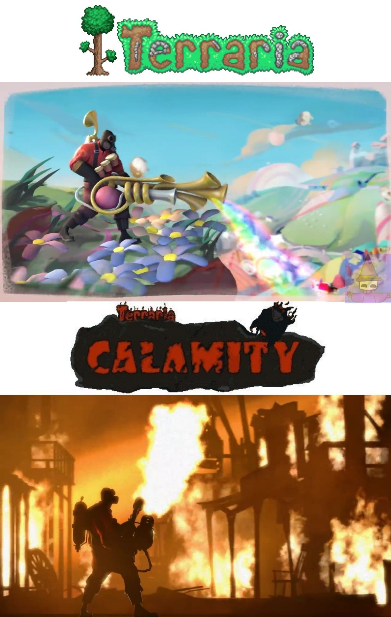 Calamity da miedo - meme