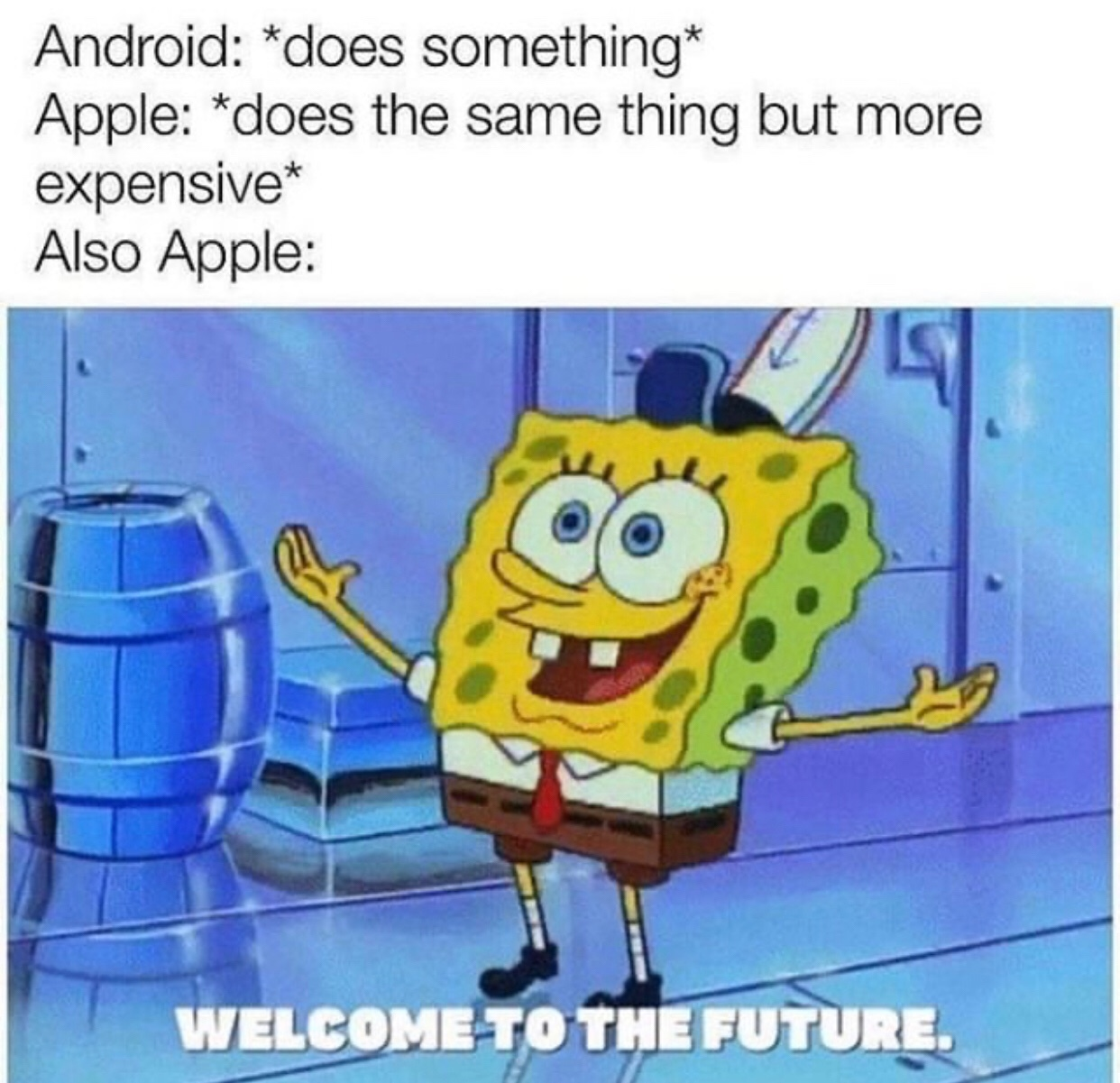 the future is now old man - meme