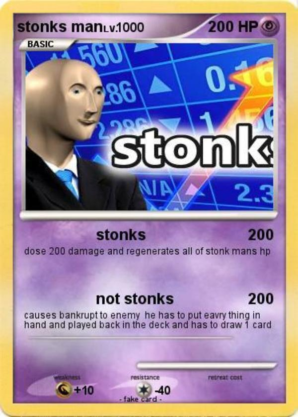 Stonk Not stonks - meme