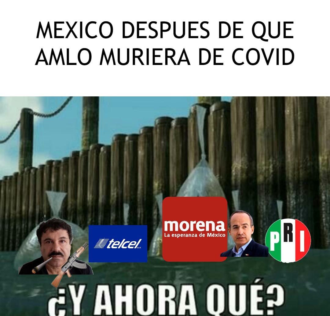 AMLO SE NOS VA!!! - meme
