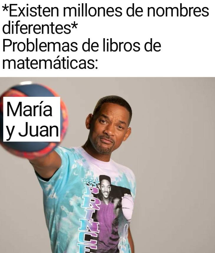María y Juan - meme