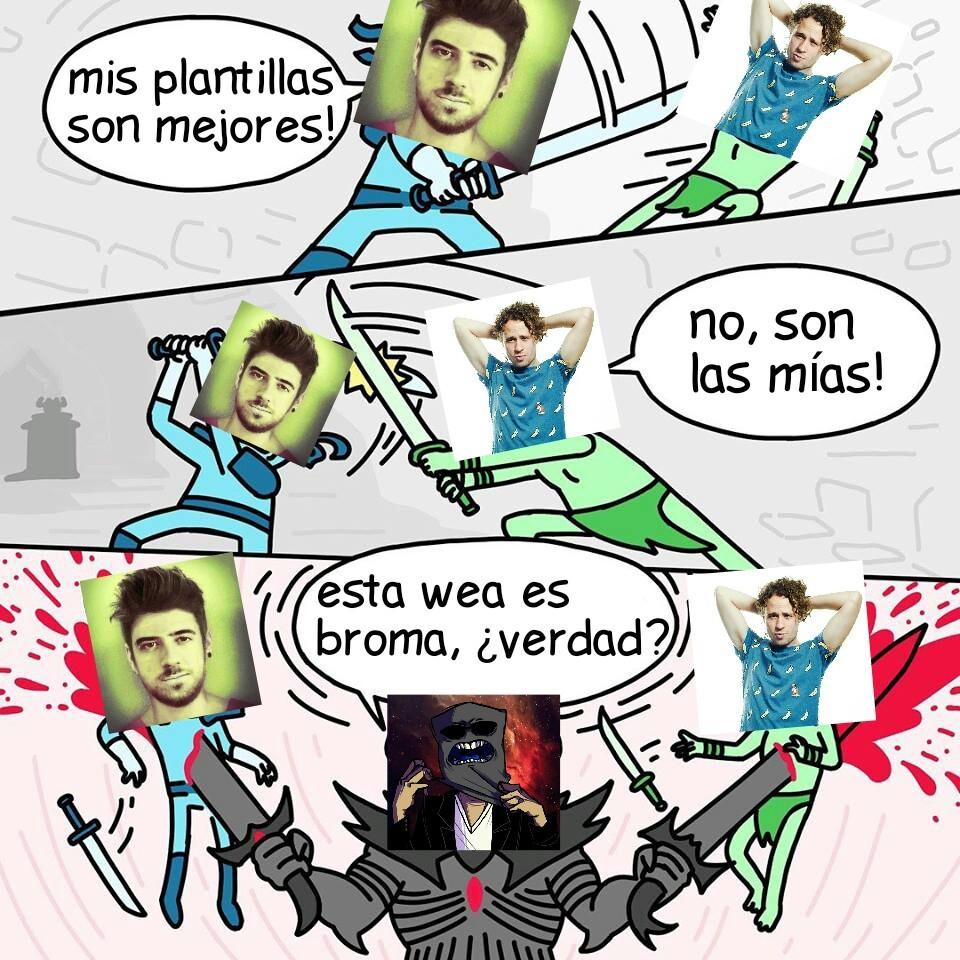 Dylantero sin imaginacion - meme
