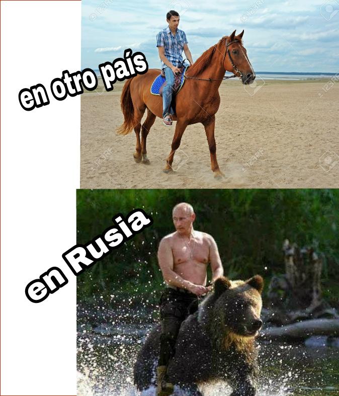 Los rusos - meme