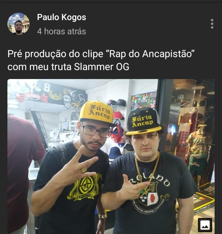 O grandioso rapper brasileiro - meme