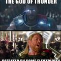 God of Thunder?