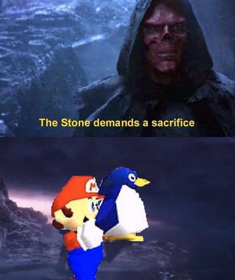 Référence à un vieux meme