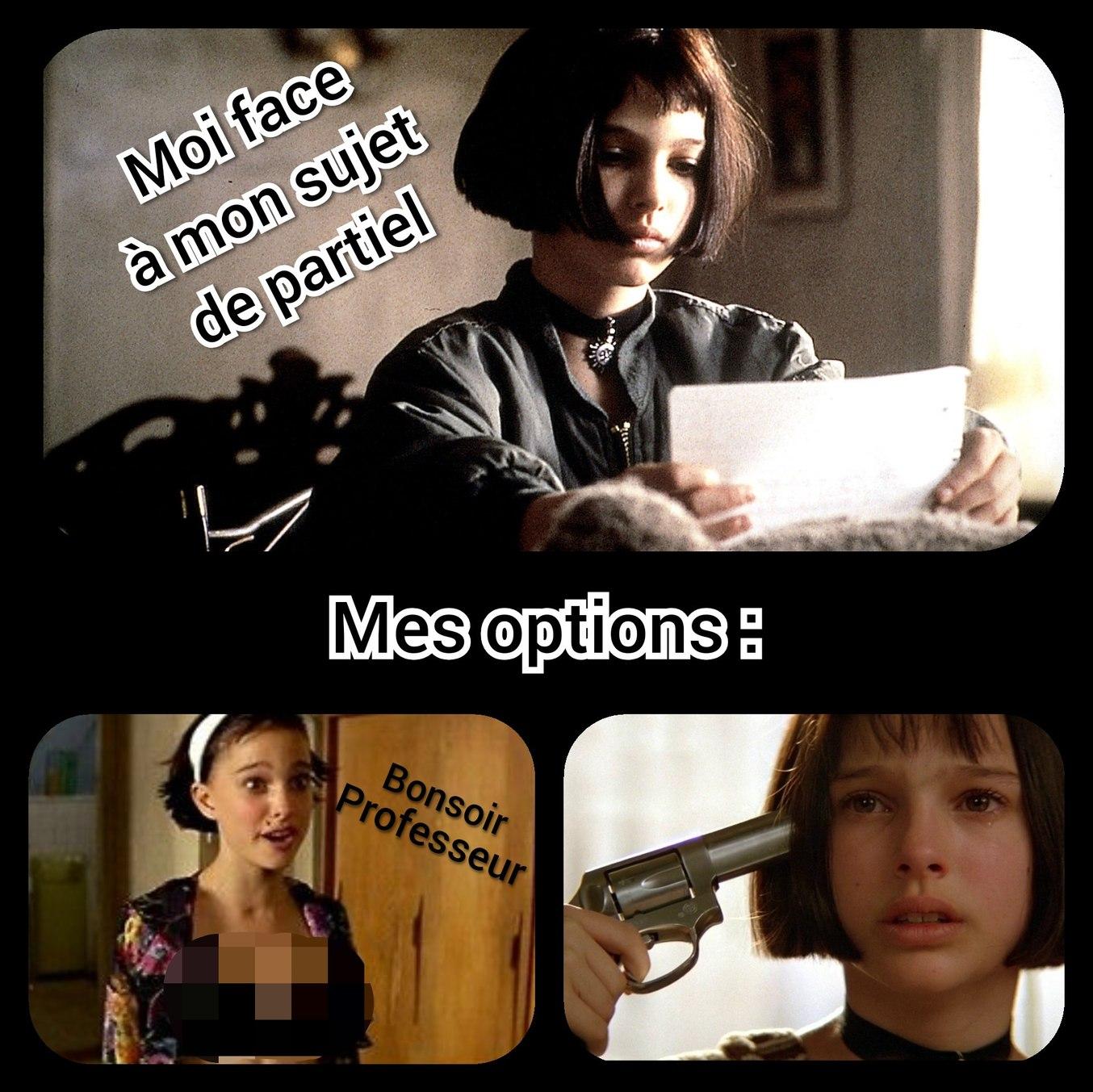 La choix cornélien de Mathilda - meme