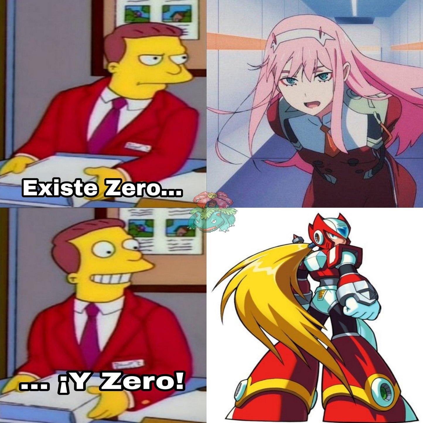 Este Zero es el mejor que existe en el universo de Megaman - meme