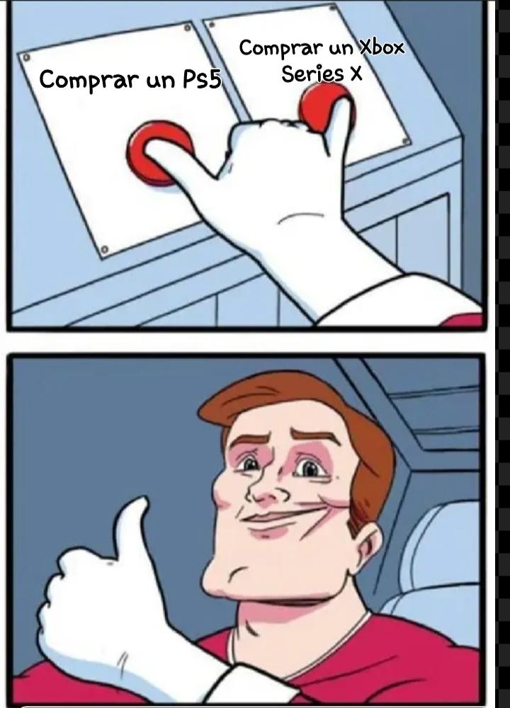 Ps5 vs. XSX. P.D: Quiero agradecer por el apoyo en los últimos memes. Gracias moderadores,son los mejores.