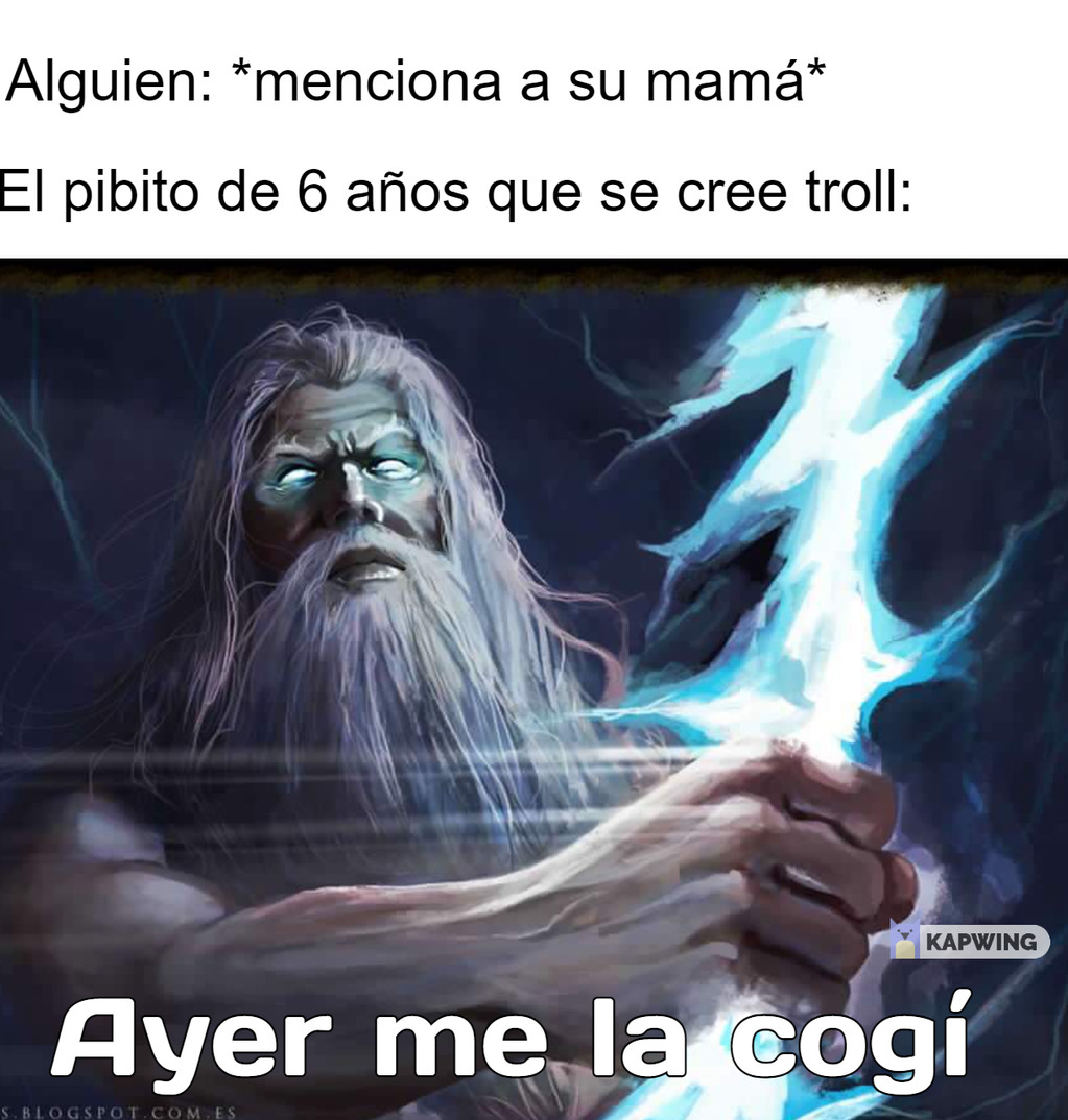 Troleador pibito - meme