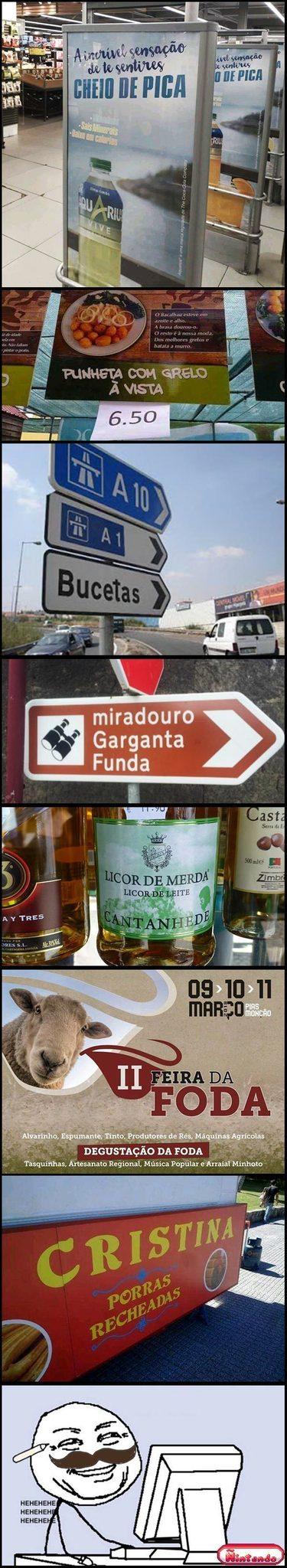 Eu não teria maturidade p/ morar em Portugal kkk - meme