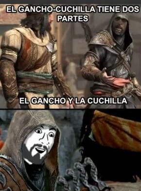 Gancho-cuchilla - meme