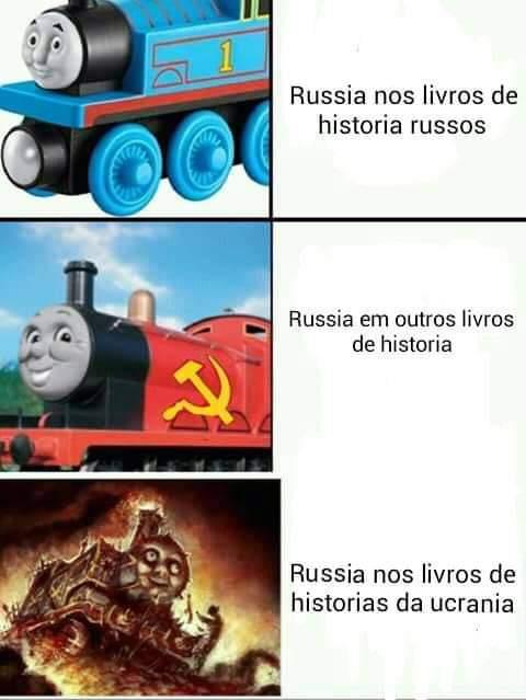 Porra Rússia - meme