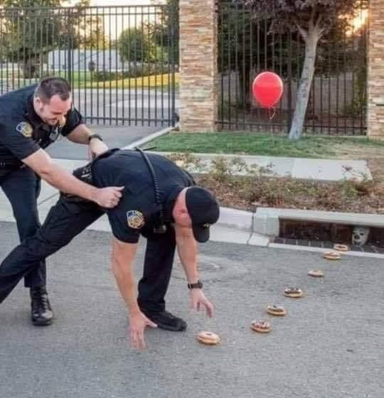 Como pegar um policial - meme