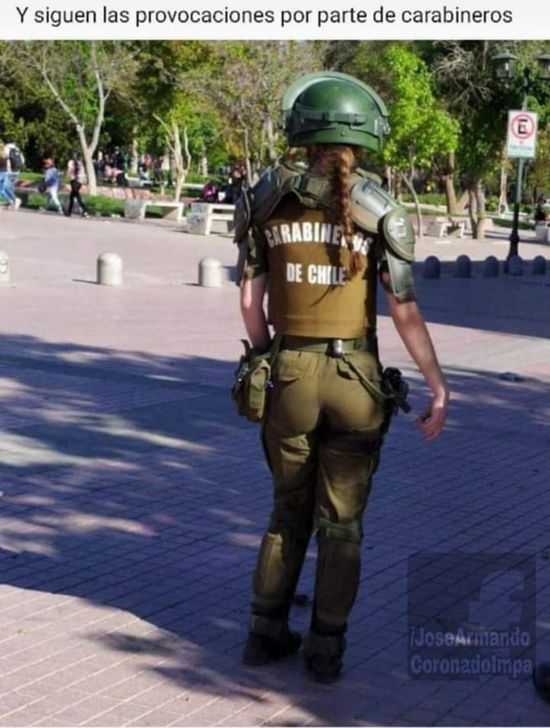 """""""Carabinero"""" es """"policía"""" en chile - meme"""