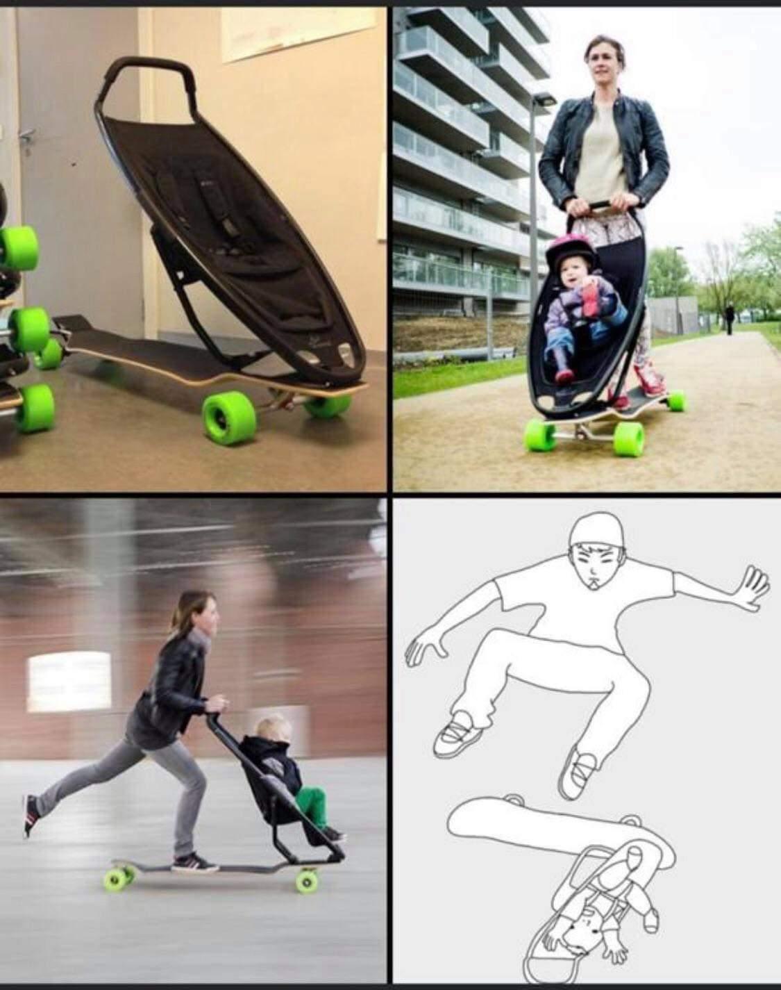 Plot twist: the kid's name is Ollie - meme