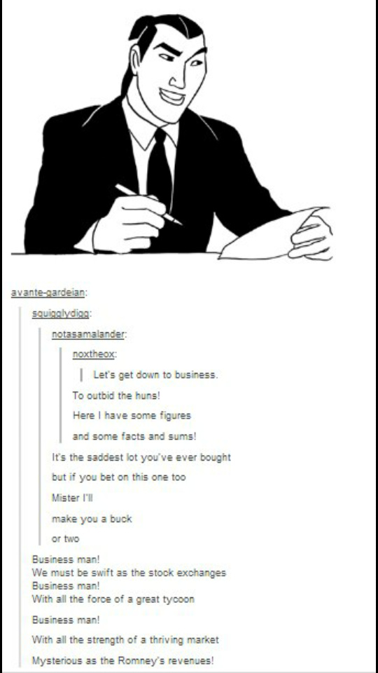 Let make business with the Huns - meme