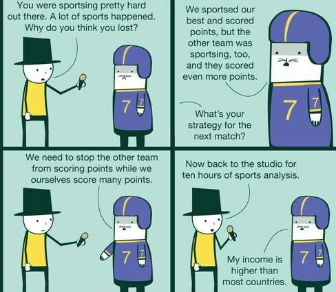 Sporting hard - meme