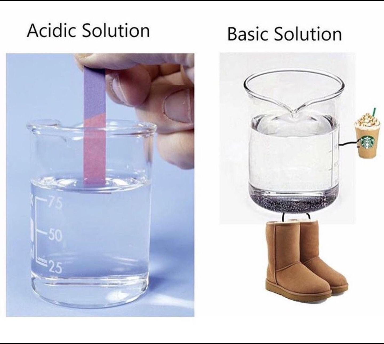 Learnin some chemistry - meme