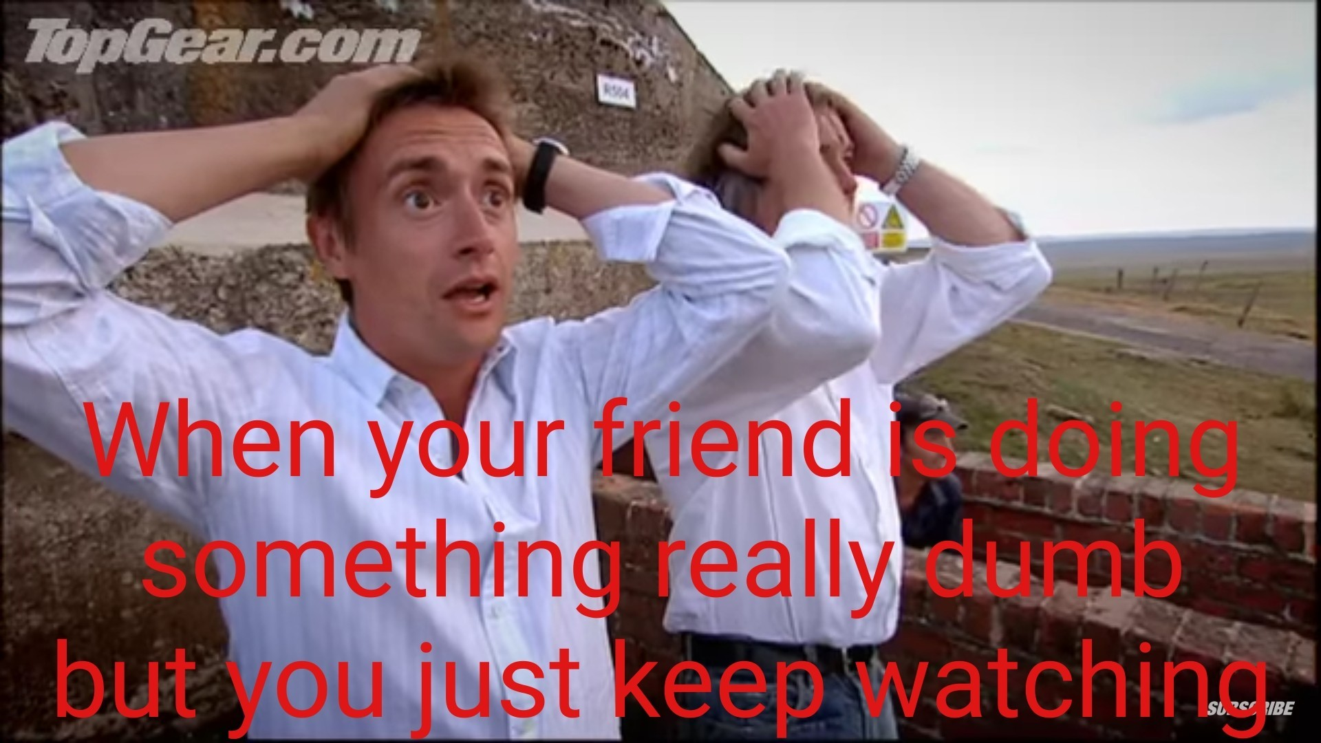 Just keep watching - meme