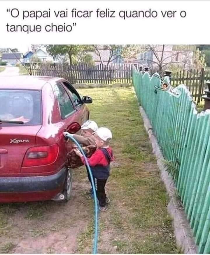 Criança é uma porra - meme