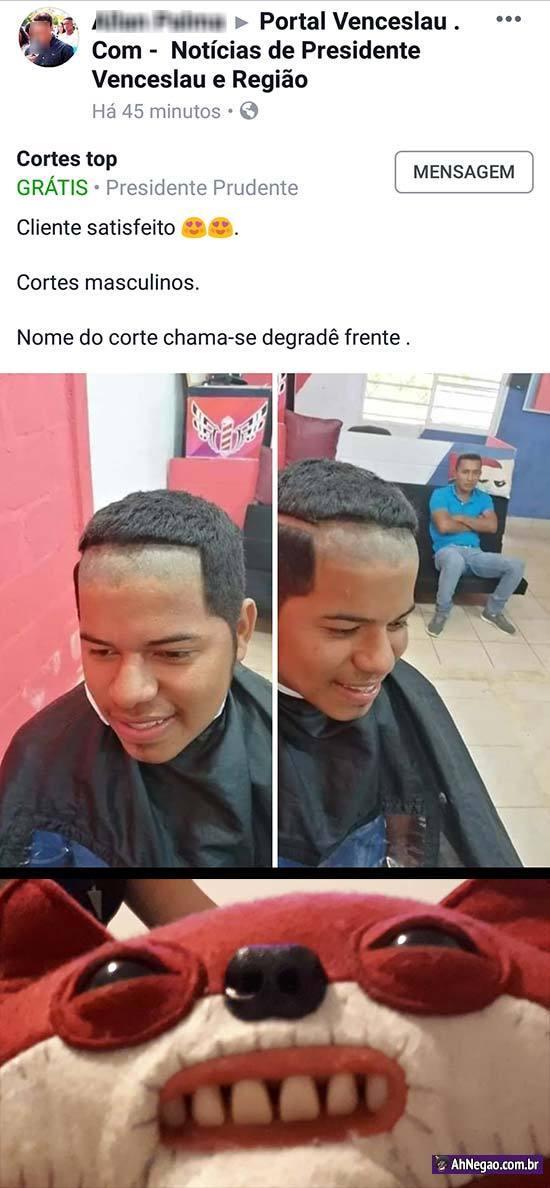 DEGRADE É COISA DE CABRA HOMENGAY B-] - meme