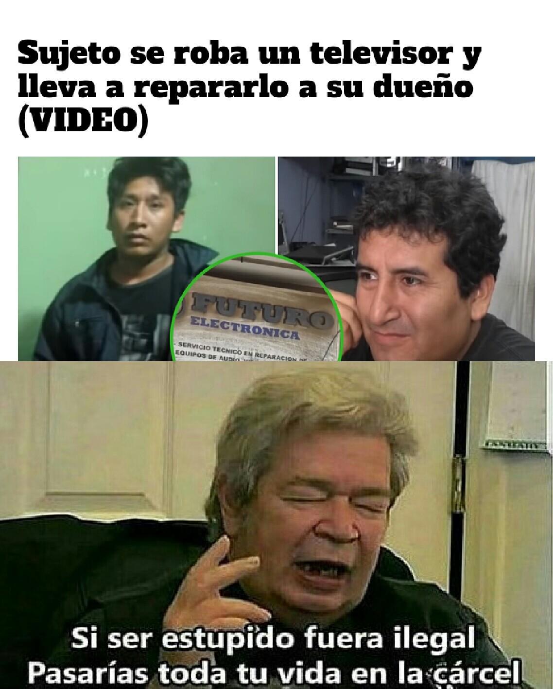 Estupidez 1000 - meme