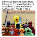 Guess we're all doing Elmo memes