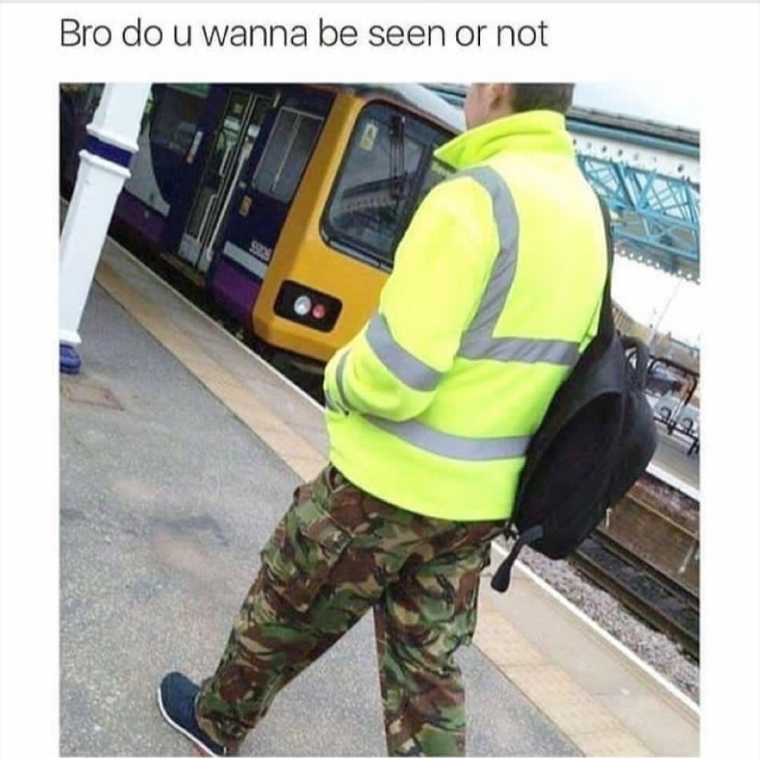 camuflagem 50% - meme