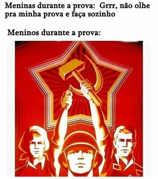 Pela glória da URSS - meme