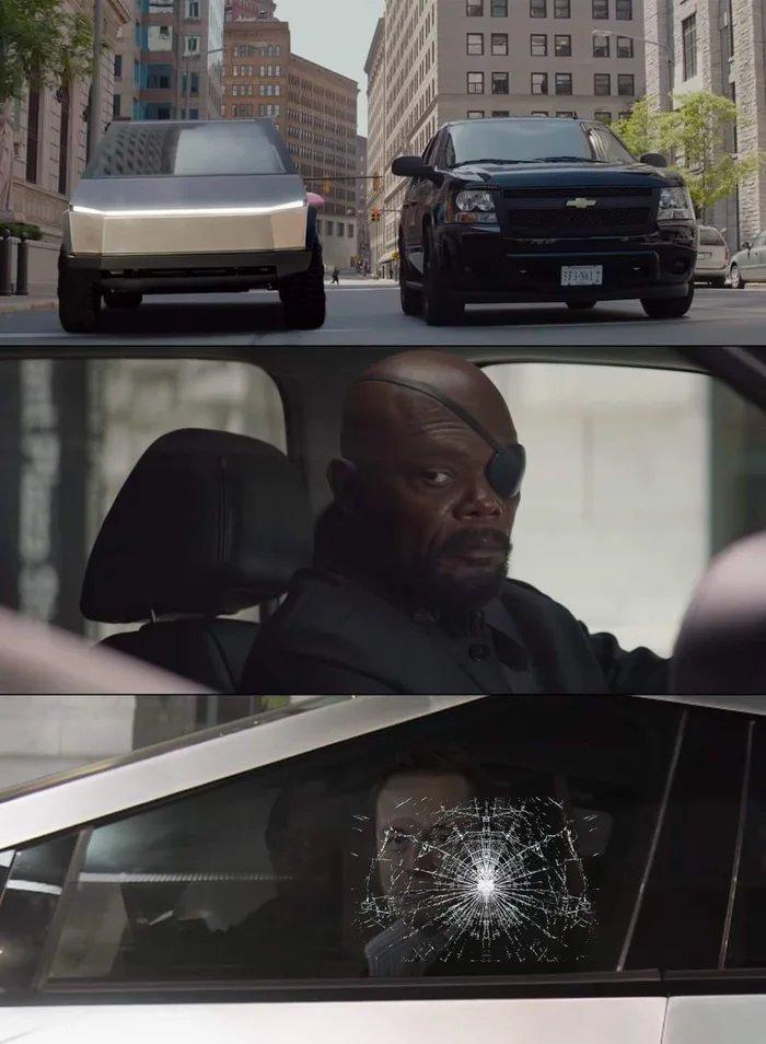 Dongs in a car - meme
