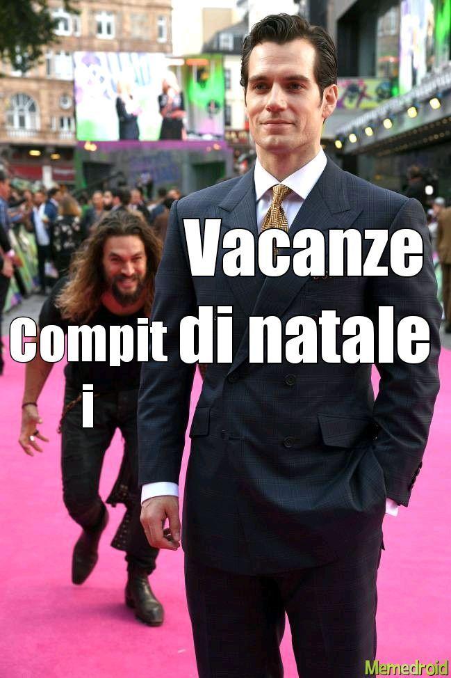 Vacanze di natale - meme