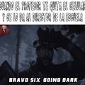 Bravo six osi osi.