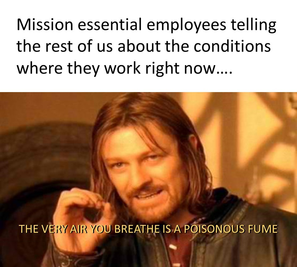 The Fellowship Was Mission Essential - meme