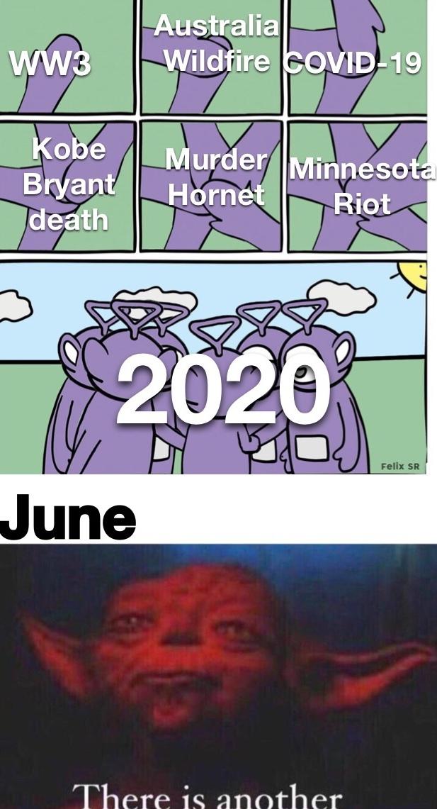 terrible year - meme