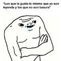 """""""La leyenda se olvida"""""""