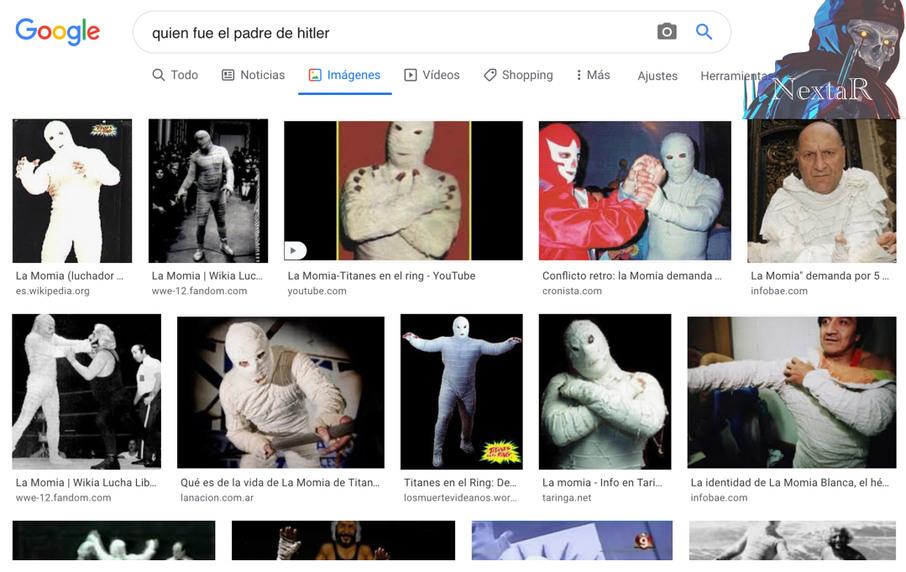 La momia titanes en el ring - meme