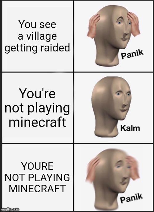Minecraft is good - meme