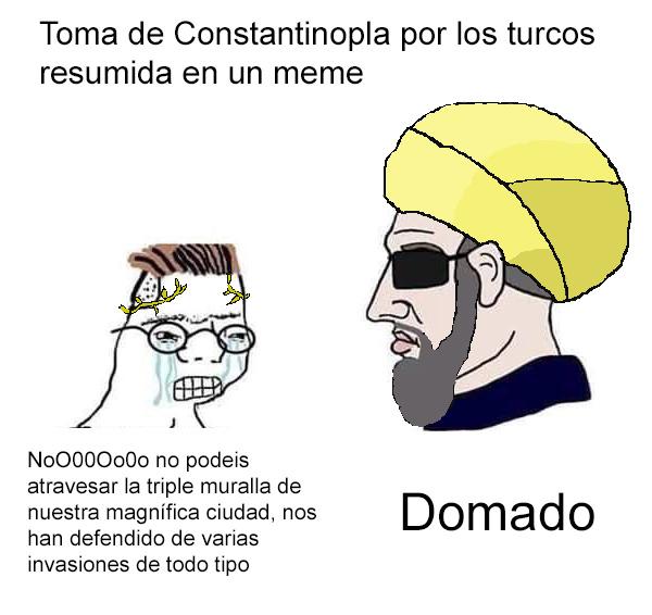 Re Chad el sultán Murad - meme