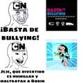 Bullying a Robin